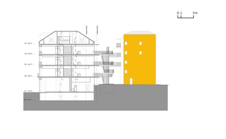 剖面图01 sections01-路西塔尼亚阁楼第18张图片