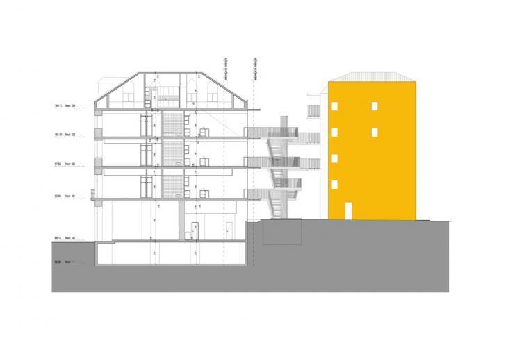 剖面图02 sections02-路西塔尼亚阁楼第19张图片