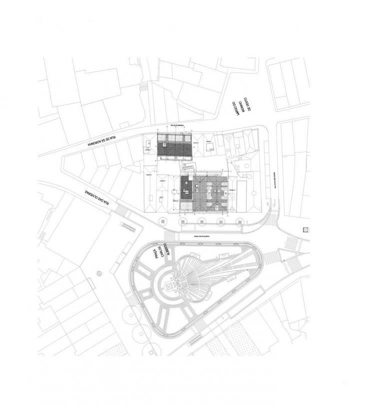 位置平面图 site plan-路西塔尼亚阁楼第21张图片