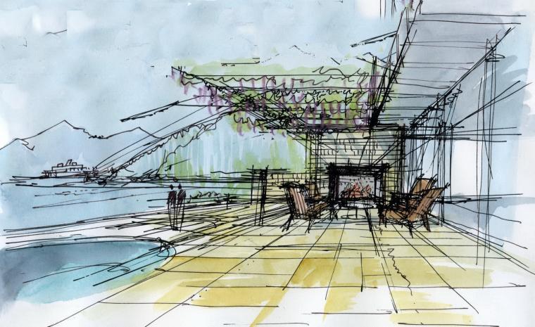 草图03 Sketch03-宝云岛住宅第19张图片