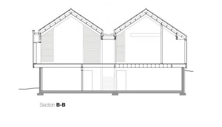 剖面图BB SectionsBB-宝云岛住宅第24张图片