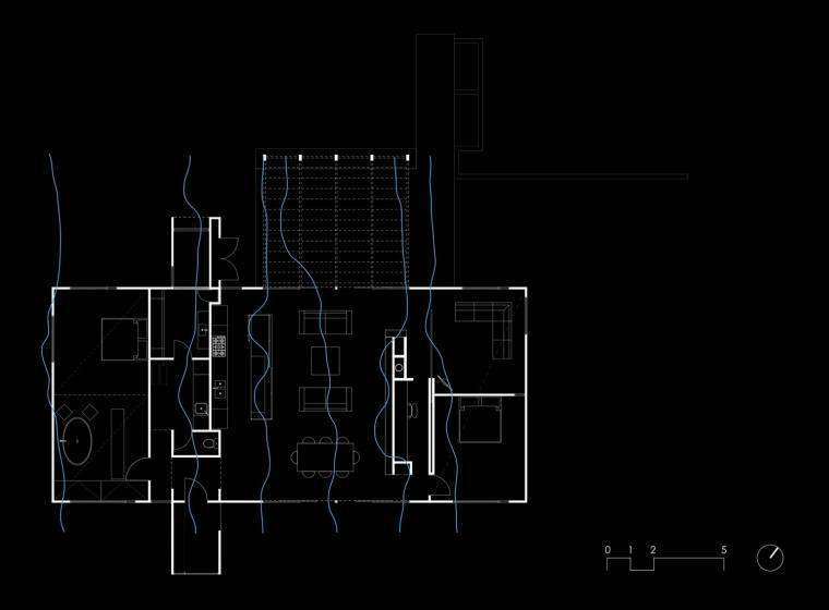 平面图 Floor Plan-素山宅第13张图片