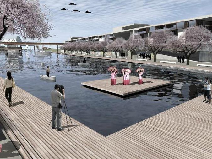 Magok滨水区域景观规划
