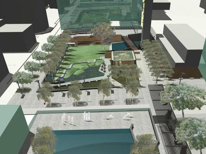 南Dowling街总体规划