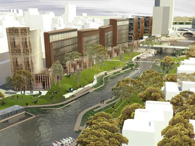 帕拉马特河城市规划