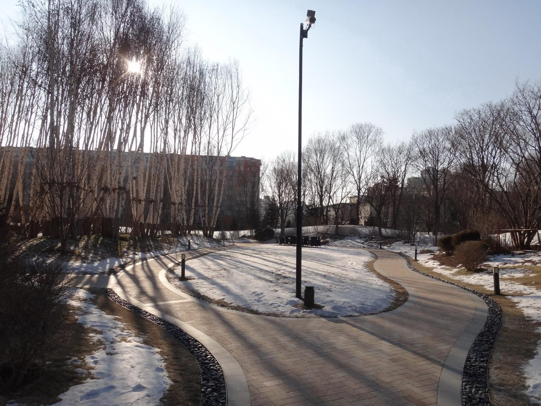 长春柏翠园市民广场