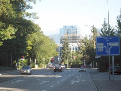 WIPO/OMPI行政楼景观