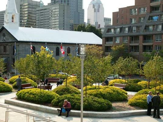 蒙特利尔会议中心广场