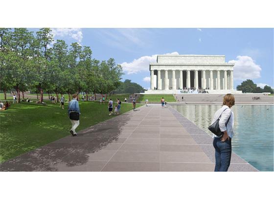 林肯纪念堂景观改造