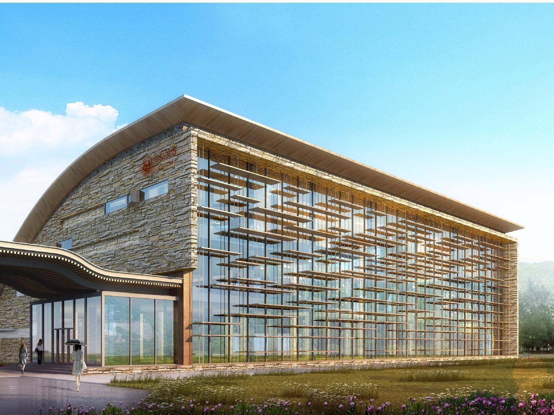 长白山池南区展示中心