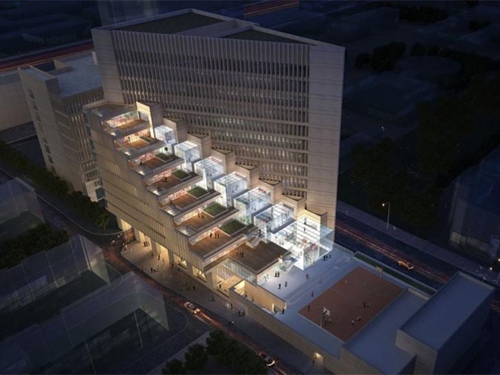 中国建筑设计研究院科研创新中心