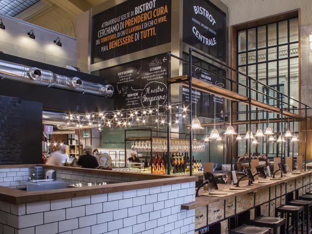 意大利中心火车站小餐厅