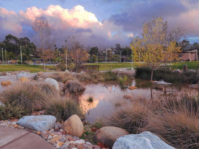 美国布赖尔克雷斯特公园景观