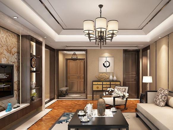新中式风格家居样板间