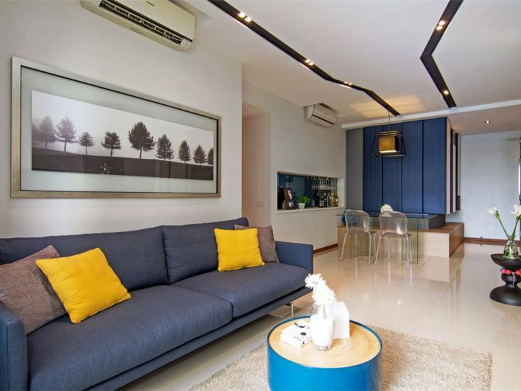 新加坡不对称公寓