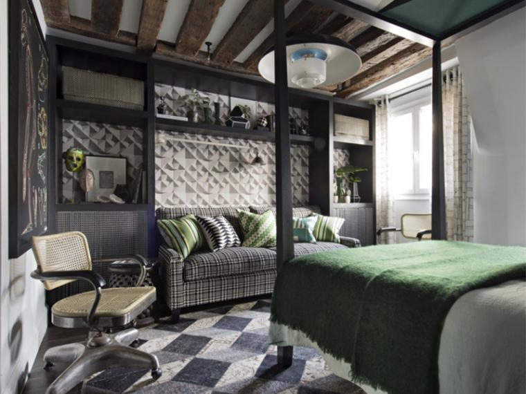 法国花衣服渔村公寓