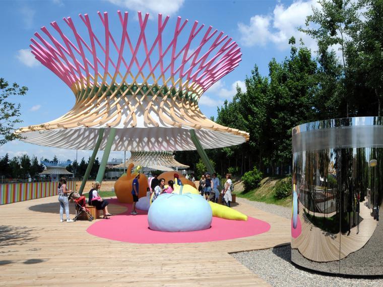 2015年米兰世博会儿童游乐园