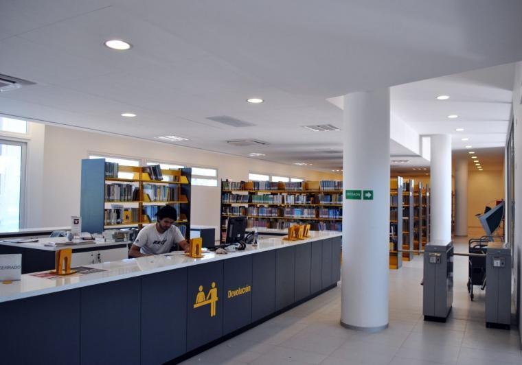智利U.塔尔卡图书馆内部实景图-智利U.塔尔卡图书馆第16张图片