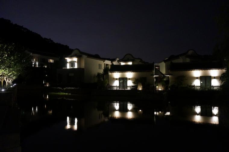 宁波柏悦酒店外部夜景实景图-宁波柏悦酒店第2张图片