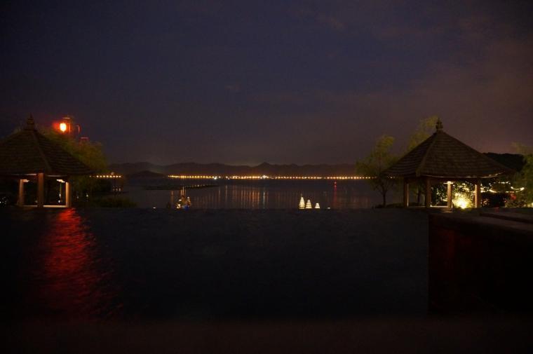 宁波柏悦酒店外部夜景实景图-宁波柏悦酒店第3张图片