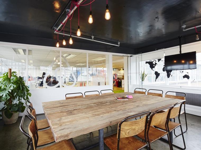 英国Airbnb新办公室