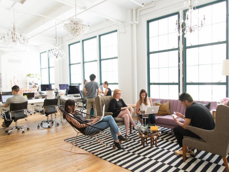 it公司办公室设计资料下载-美国Homepolish设计公司办公室