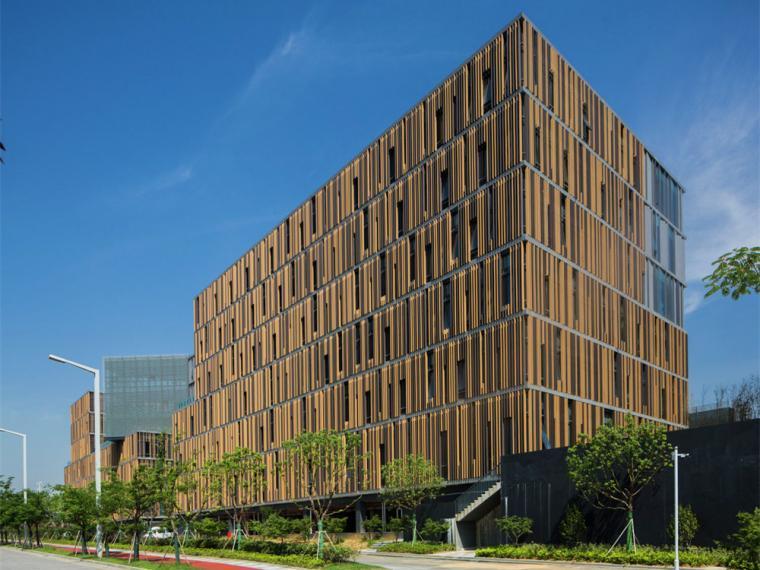 南京红枫科创园区A1楼建筑