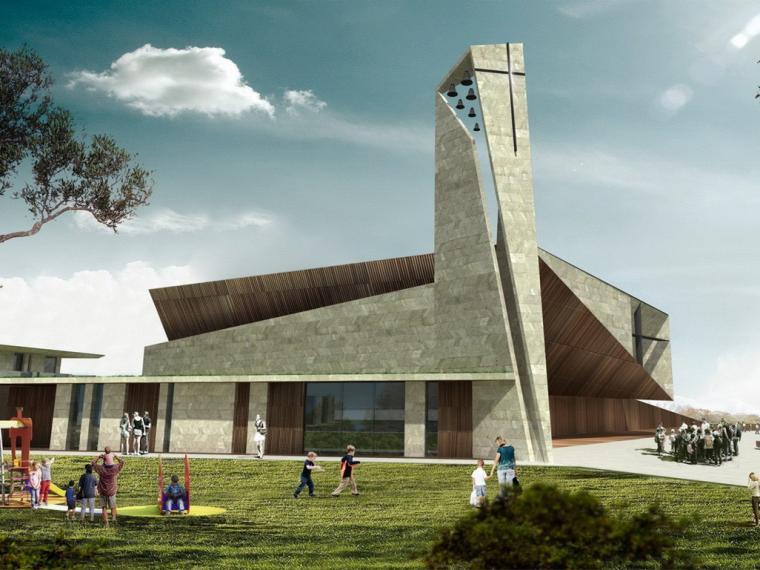 意大利Cinisi教堂