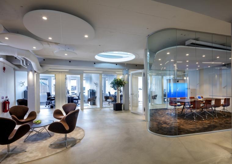瑞典Heimstaden公司办公室室内实-瑞典Heimstaden公司办公室第2张图片