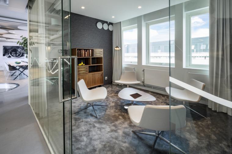 瑞典Heimstaden公司办公室室内实-瑞典Heimstaden公司办公室第4张图片