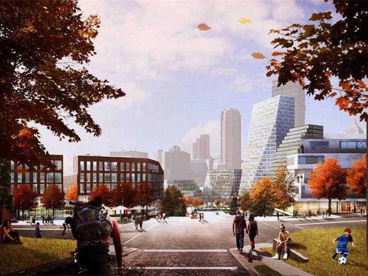 美国匹兹堡住宅区和公共空间改造