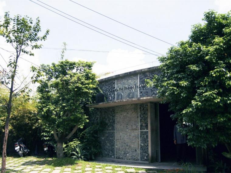 越南超原生态的建筑工作室第1张图片