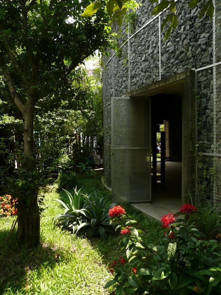 越南超原生态的建筑工作室外部实-越南超原生态的建筑工作室第2张图片
