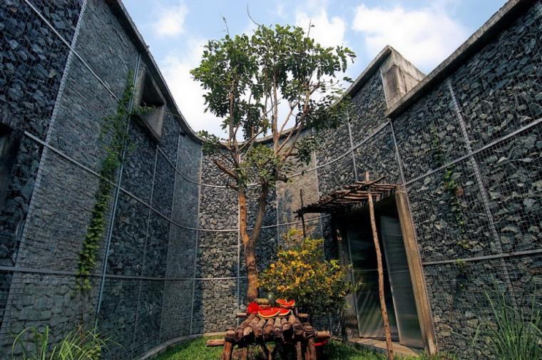 越南超原生态的建筑工作室外部实-越南超原生态的建筑工作室第4张图片