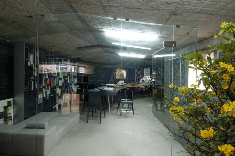 越南超原生态的建筑工作室内部实-越南超原生态的建筑工作室第13张图片