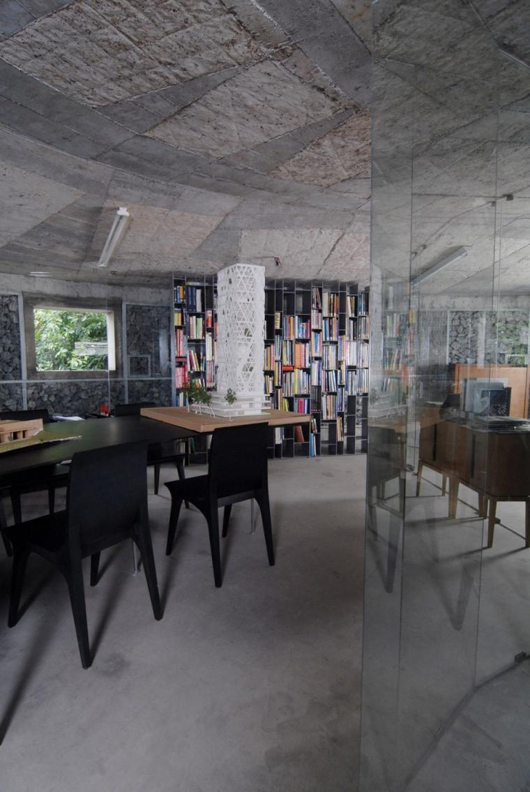 越南超原生态的建筑工作室内部实-越南超原生态的建筑工作室第15张图片