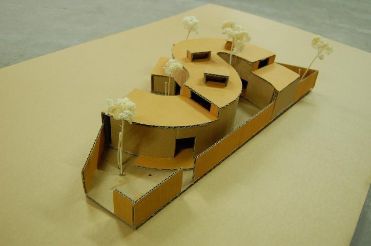 越南超原生态的建筑工作室模型图-越南超原生态的建筑工作室第16张图片