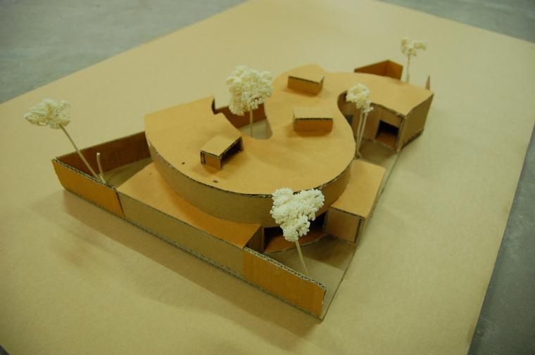 越南超原生态的建筑工作室模型图-越南超原生态的建筑工作室第17张图片