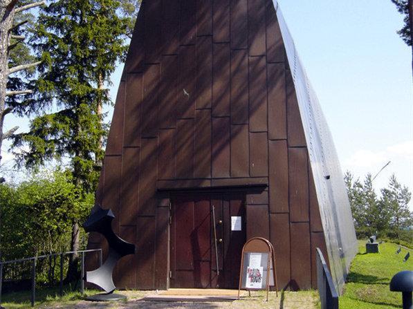 芬兰圣亨利艺术教堂