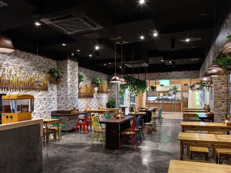 南京苏典面馆餐饮空间