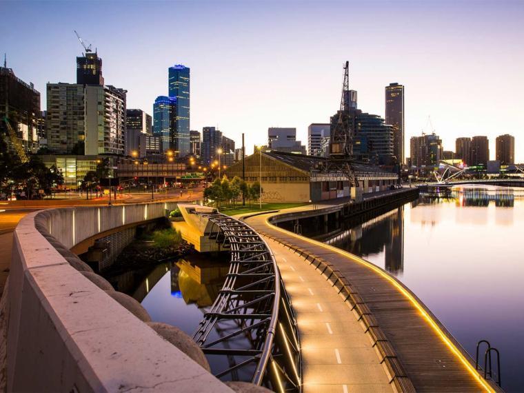 澳大利亚Docklands码头景观