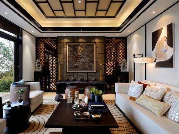新中式装修风格住宅