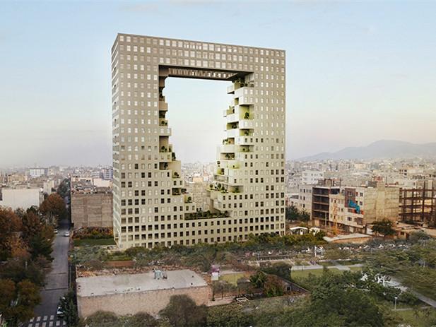 vandad生态大楼资料下载-伊朗vandad生态大楼
