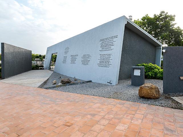 印度mahaprasthanam教火葬场和公墓