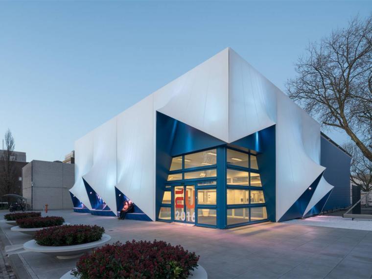 荷兰3D打印立面临时建筑