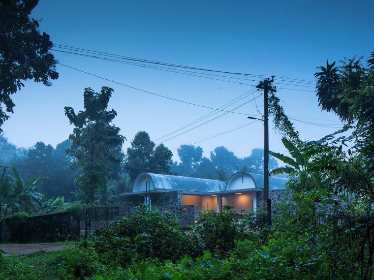 印度单层住宅景观