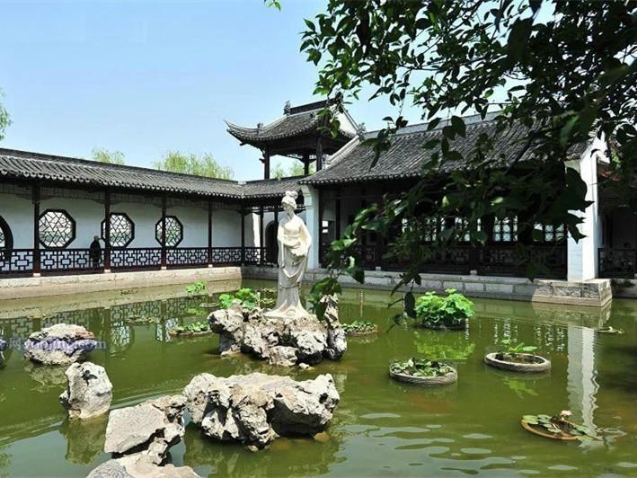 南京莫愁湖景观