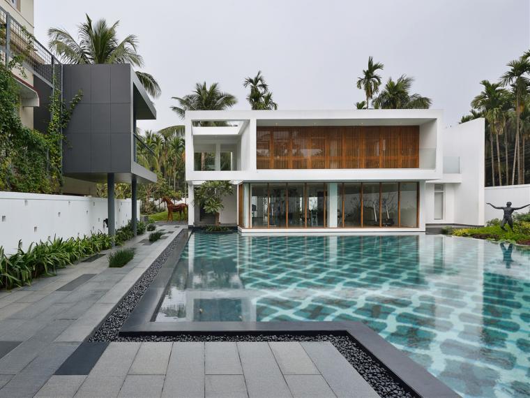 印度泳池别墅