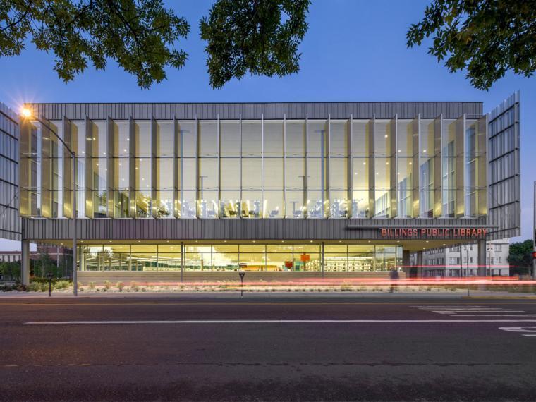 美国比林斯公共图书馆