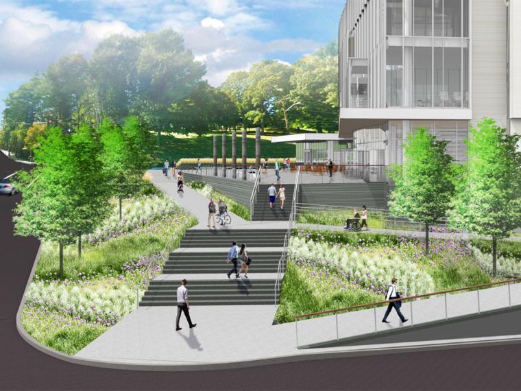 美国麻州交通局区域的绿色改造